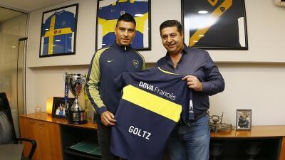 Paolo Goltz es ya oficialmente jugador de Boca Juniors