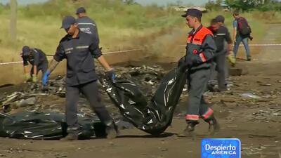 Indignación mundial por nuevo accidente aéreo de Malaysia Airlines