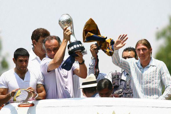 Desde que los Pumas fueron campeones de liga en el Clausura 2011 con cua...