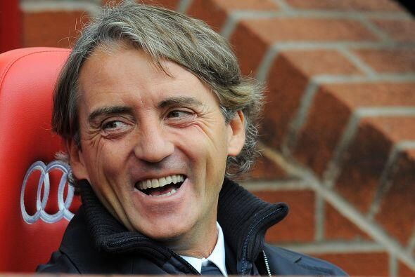 Nuestras 11 figuras son comandadas por Roberto Mancini, el entrenador qu...