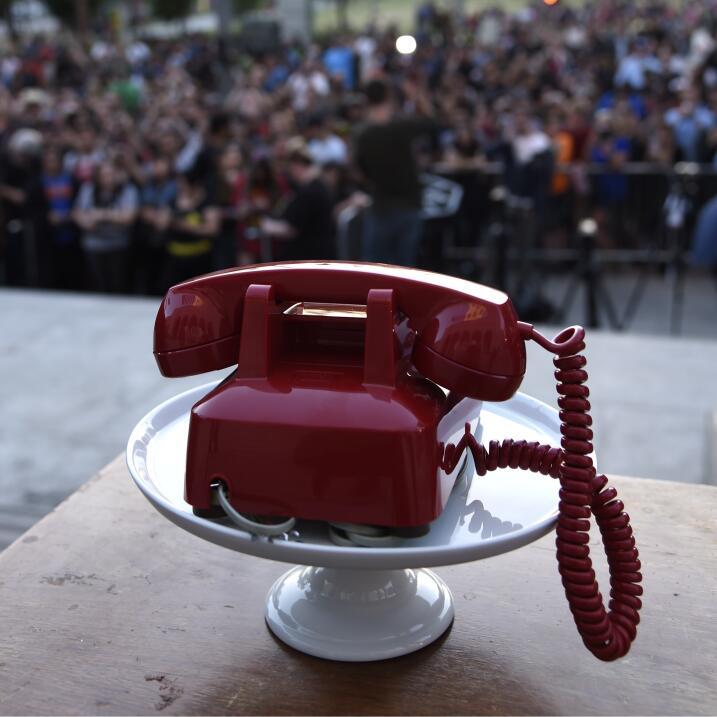 El teléfono rojo de Batman.