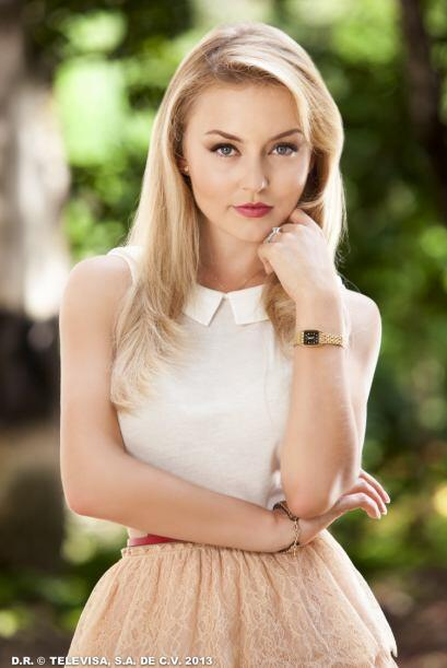 Pues en este momento Angelique es una de las actrices más guapas de las...