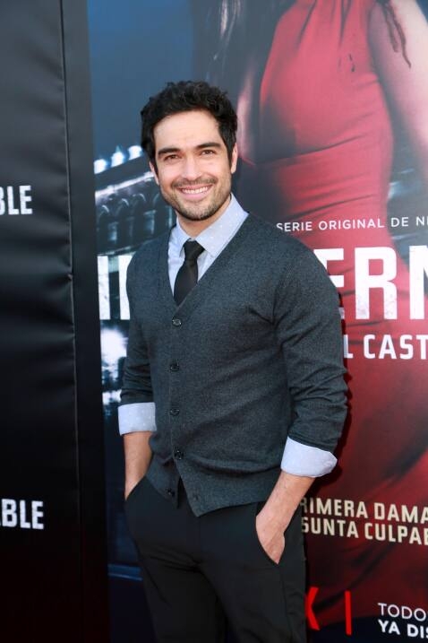Cómodo, Alfonso 'Poncho' Herrera no faltó al estreno de 'Ing...