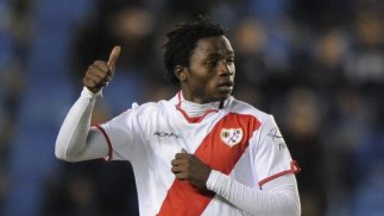 El guineano Lass anotó el primer gol del Rayo.
