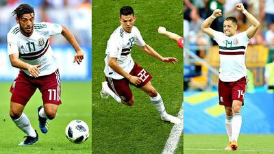 Ataque que da miedo: análisis de los imparables Carlos Vela, 'Chucky' Lozano y Javier Hernández