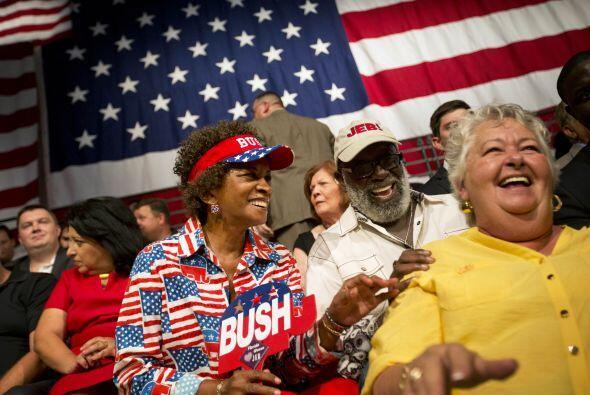 """""""Tomaremos las riendas de nuestro futuro en este país nuevamente"""", dijo..."""