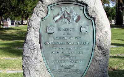 Monumento a soldados del Ejército de Estados Confederados en Los...