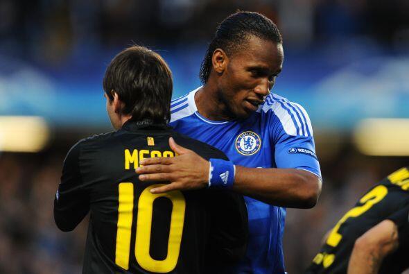 Imágenes del Chelsea vs. Barcelona