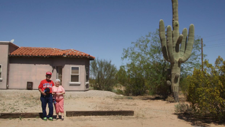 Barbara y James Reyes en Arizona