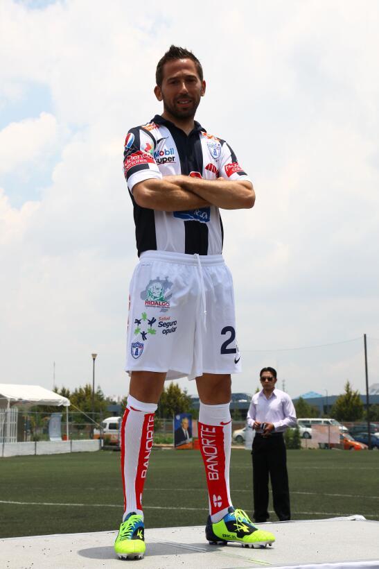 El español Raúl Tamudo pasó casi inadvertido en el Pachuca cuando llegó...