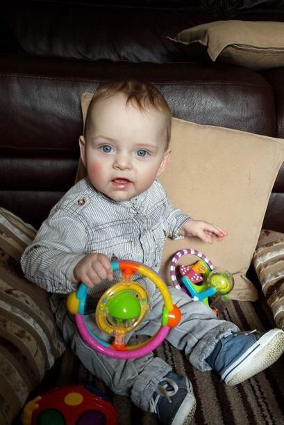 Hace once meses Rachel Morris, tocó a la muerte en su parto durante sólo...