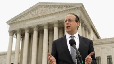 Paul Clement, representante de los 26 estados que rechazan la reforma de...