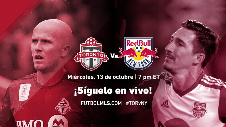 Toronto FC vs New York Red Bulls, Síguelo en vivo