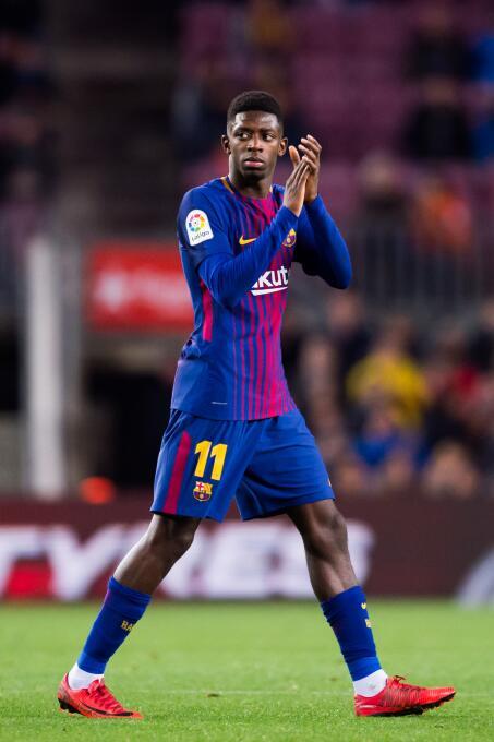 Hace solo seis meses llegó Ousmane Démbélé al F.C. Barcelona por una cif...
