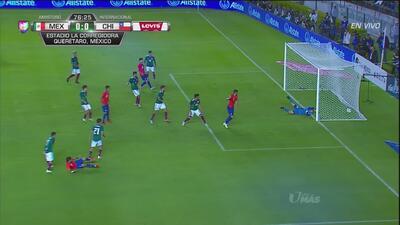 Gol de Chile… pero el árbitro lo anula por fuera de lugar