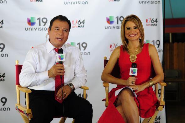 Jairo Díaz-Pedraza y Viviana Paez condician el noticiero desde Cal-Expo,...