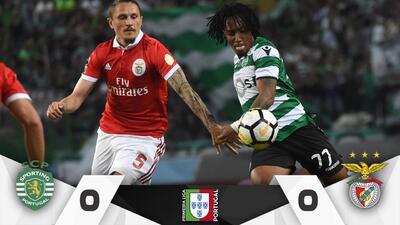 Benfica y Sporting empatan y le ceden la corona al Porto