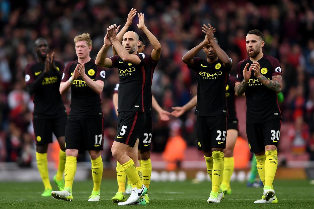 16. Manchester City (Inglaterra - UEFA) / 203 puntos