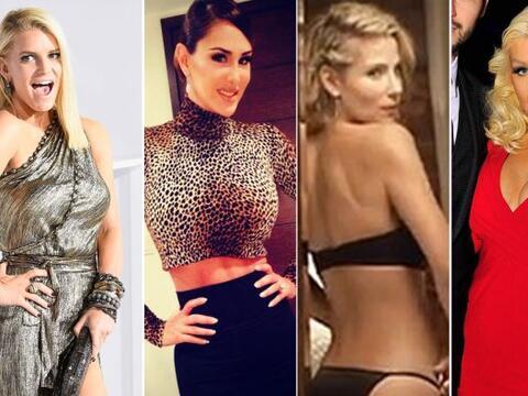 Creyeron que estas famosas quedarían con bastante libras de m&aac...