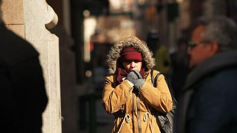 Esta imagen que refleja el frío del año pasado ilustra lo...