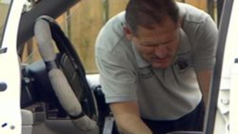 Policia de Glendale investigando robo de auto