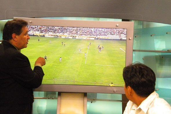 La jugada que analizó fue una del partido entre Pachuca y San Luis de la...