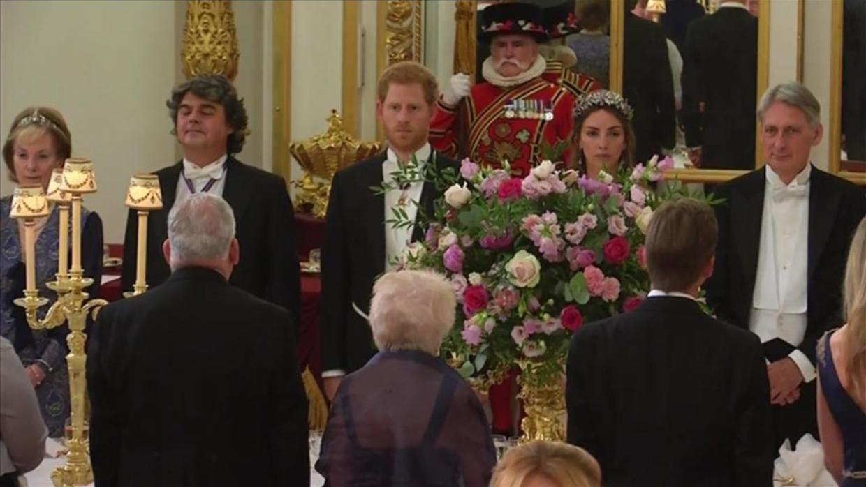 Prince Harry y Marquesa Rose Handbury