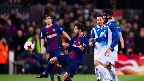 Barcelona dejó en el camino al Espanyol