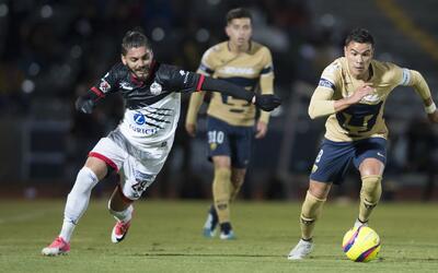 Pumas aguantó el empate por 84 minutos y al final se fue con la d...