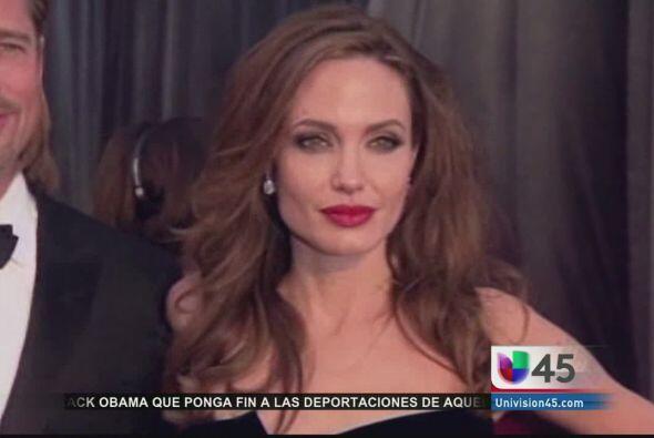 En shock dejó a todos Angelina Jolie luego de revelar a través de una ed...