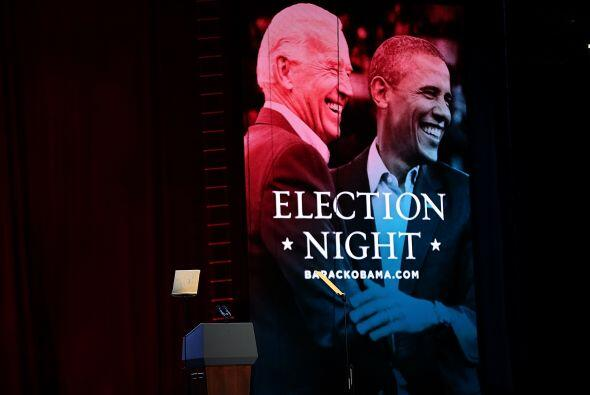 El presidente Barack Obama se encuentra esta noche en el Centro de Conve...