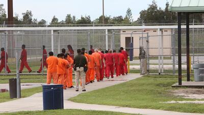Centro de detención de inmigrantes Krome, ubicado al sur de Miami.