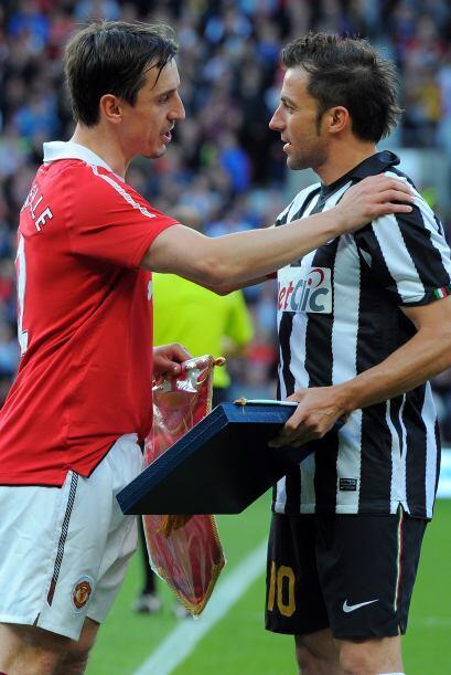 El rival fue la Juventus y Alessandro del Piero también le entregó un re...