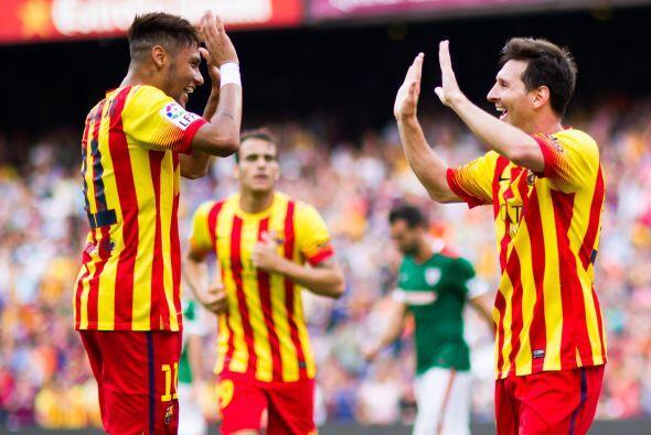 La siguiente semana Leo se fue en blanco en la victoria 1-0 en Villarrea...