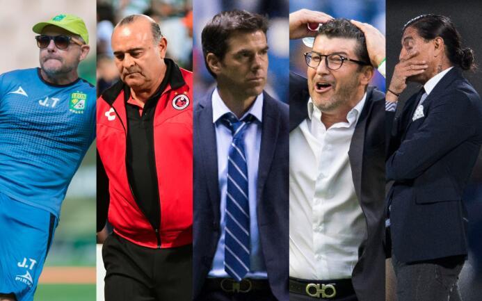 El Apertura 2017 ha sido la 'guillotina' de cinco técnicos en sus última...