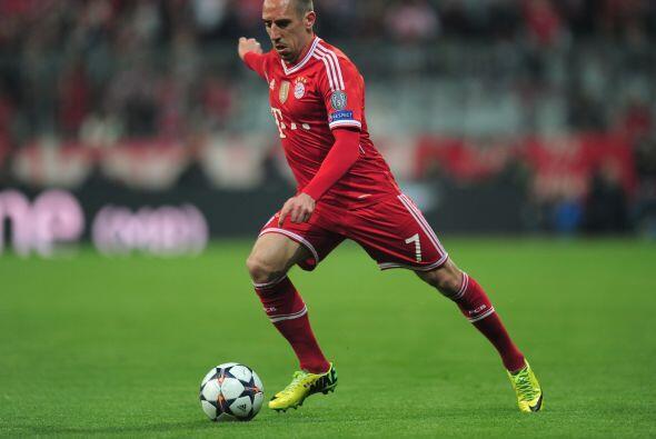 Ribery (2): No hubo ni rastro del extremo que se ganó un sitio en el pod...