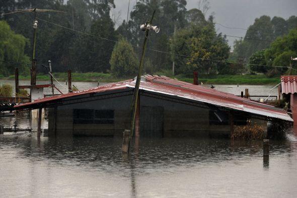 Colombia está sufriendo de un fuerte invierno desde finales de 2010  que...
