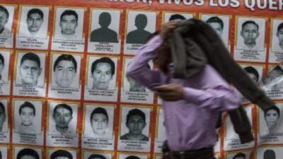 Familiares de estudiantes desaparecidos temen que los criminalicen