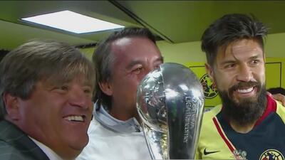 ¡En la intimidad de la celebración! Así festejó América su título número 13 en el fútbol mexicano