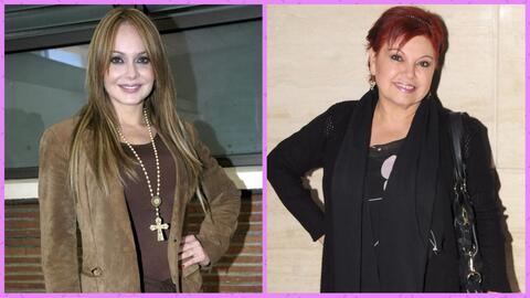 Gaby Spanic y Lupita Sandoval