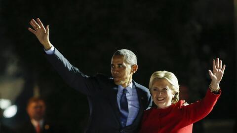 """A Hillary Clinton le tocaba promover la idea de """"cambio"""" dentr..."""