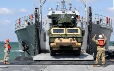 Ejercicios militares conjuntos en Corea del Sur