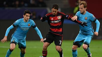 Bayer Leverkusen ante Barcelona