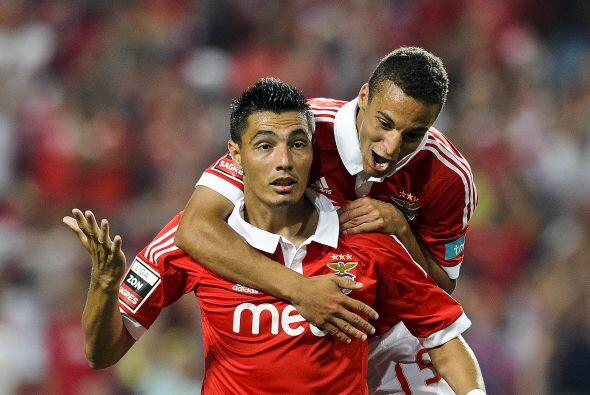 El Benfica, subcampeón portugués con los españoles Nolito y Rodrigo More...