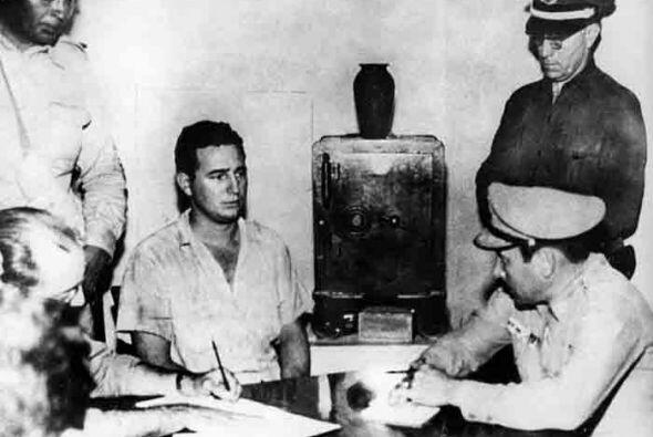 Luego del fallido ataque Castro fue procesado, y pronunció la fam...