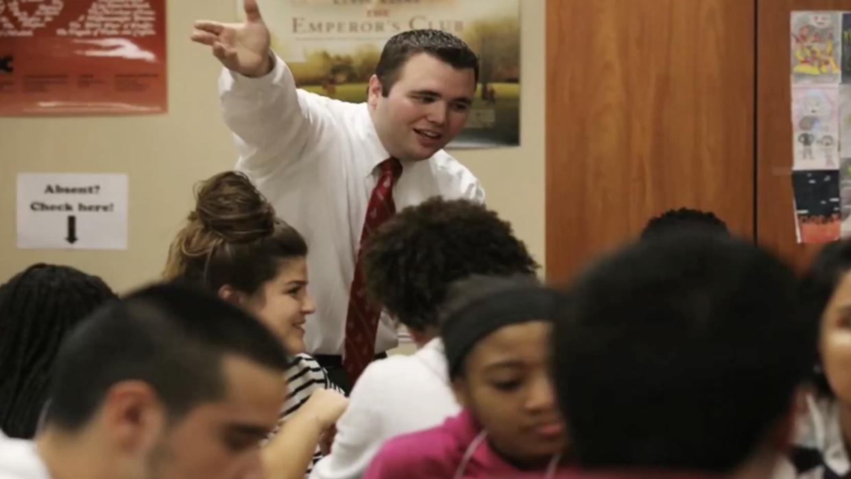 """Jared Anderson había sido seleccionado como """"maestro del año""""..."""