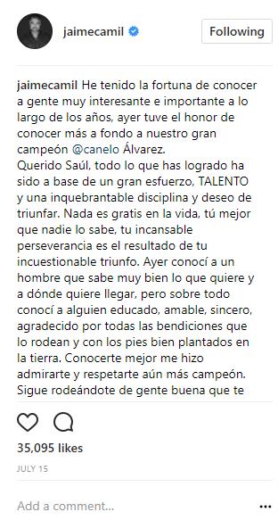 Jaime Camil
