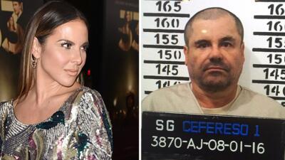 """Kate del Castillo a """"El Chapo"""": """"Me da mucha ilusión poder verte a los o..."""