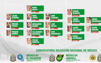 Alejandro Mayorga es la gran sorpresa en el Tri para Copa Oro 2017.