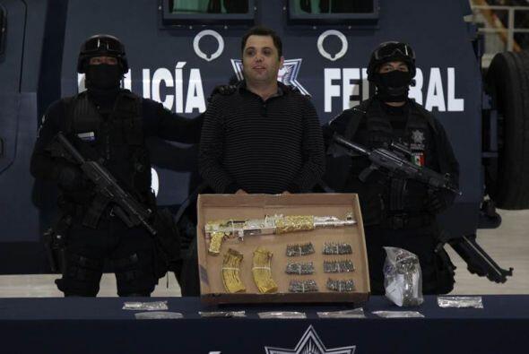 12 de septiembre. Autoridades mexicanas presentaron a Ramiro Pozos Gonz&...